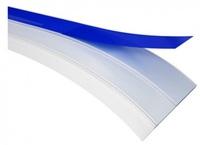 Самоклеющийся пластиковый нащельник (белый)